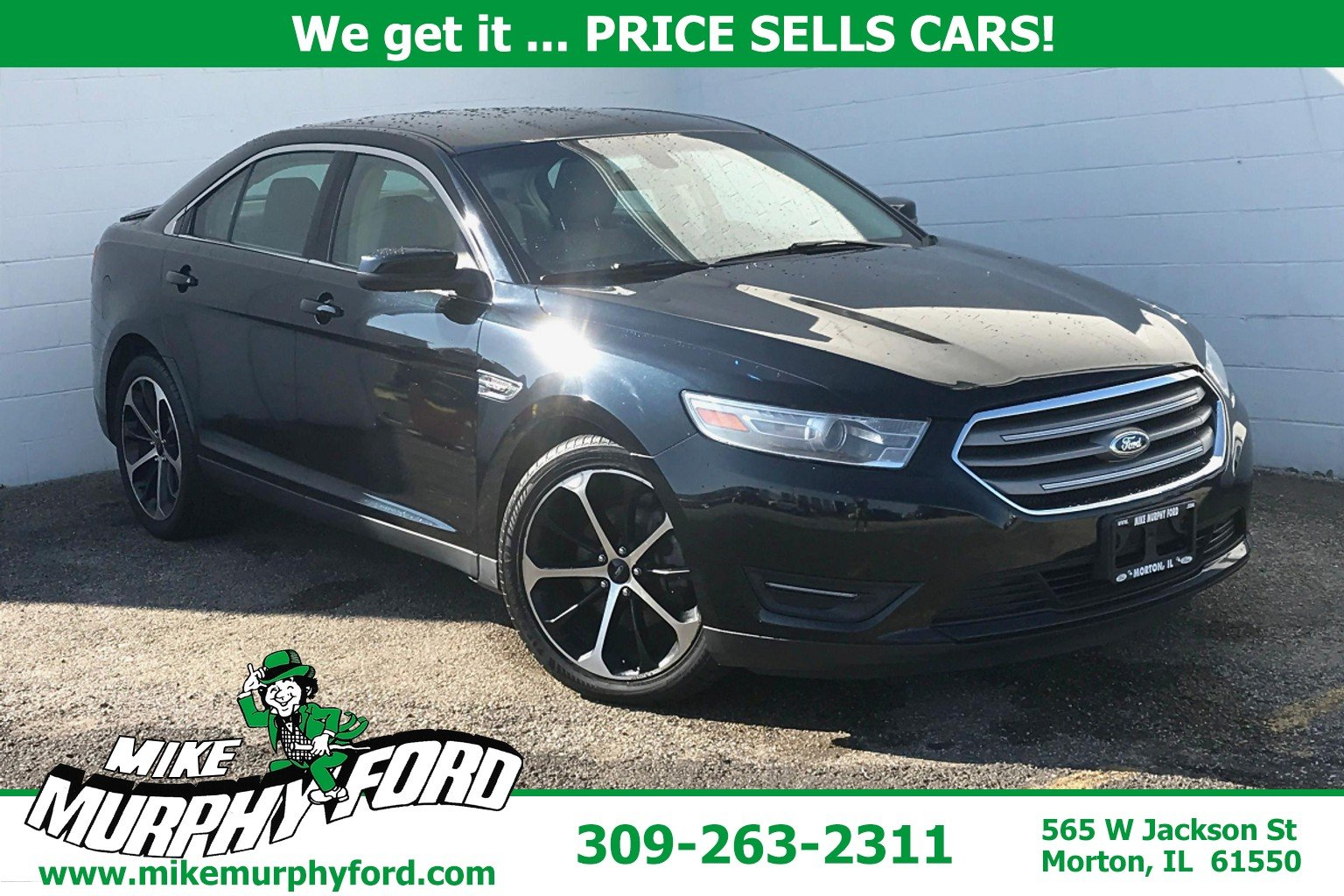 Pre-Owned 2014 Ford Taurus 4dr Sdn SEL FWD