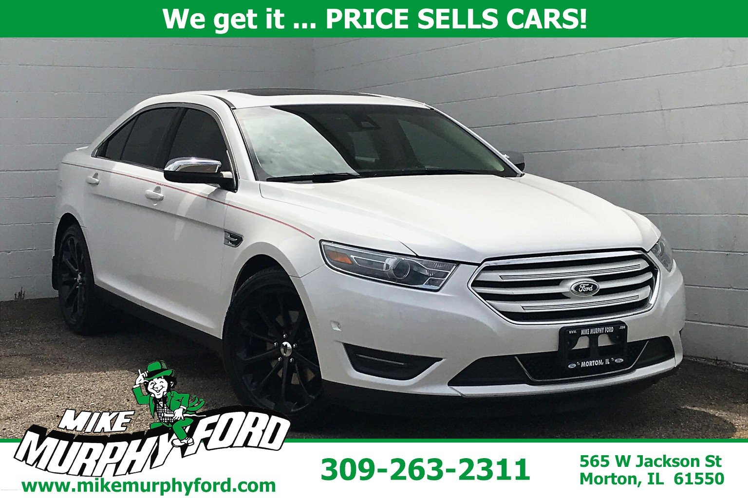 Pre-Owned 2014 Ford Taurus 4dr Sdn Limited AWD