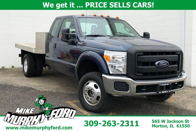 Pre-Owned 2015 Ford Super Duty F-350 DRW 4WD SuperCab 162 WB 60 CA XL