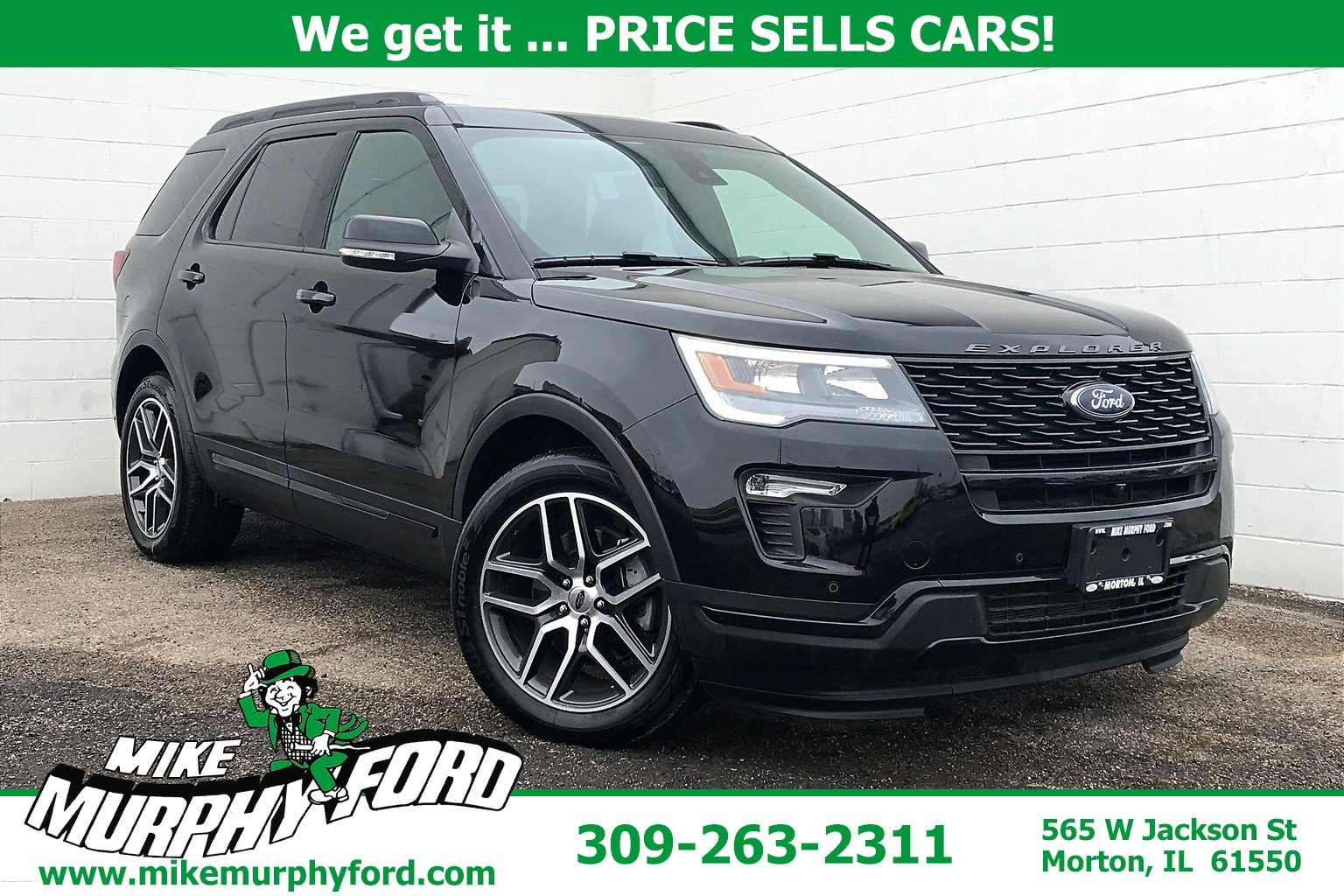 Pre-Owned 2018 Ford Explorer Sport 4WD