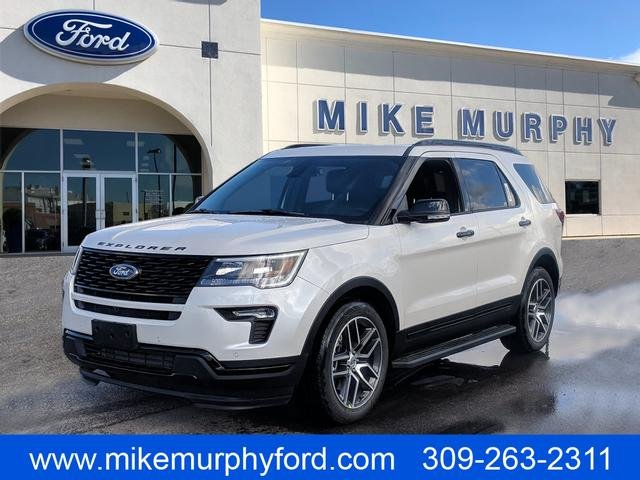 2019 Ford Explorer >> New 2019 Ford Explorer Sport 4d Sport Utility In Morton A05398