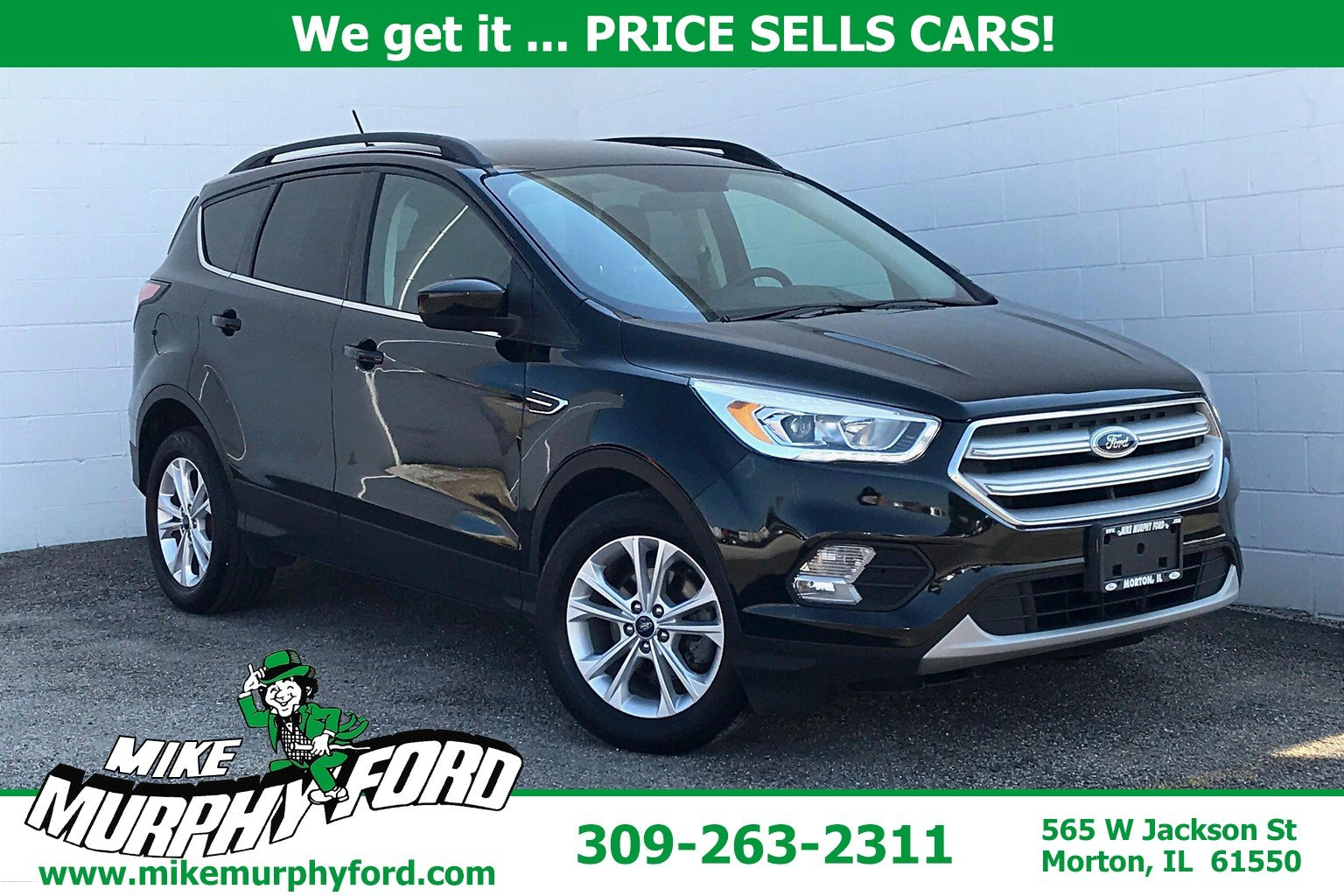 Pre-Owned 2018 Ford Escape SEL FWD 4D Sport Utility in ...