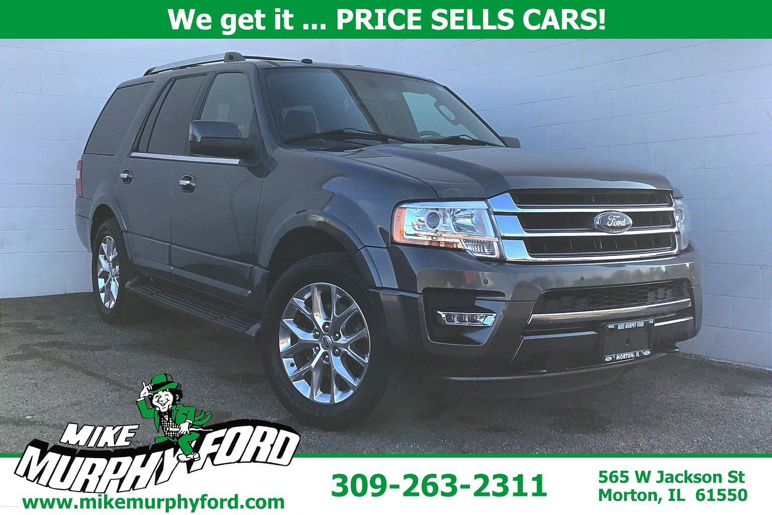 Pre-Owned 2017 Ford Expedition 4WDLimited