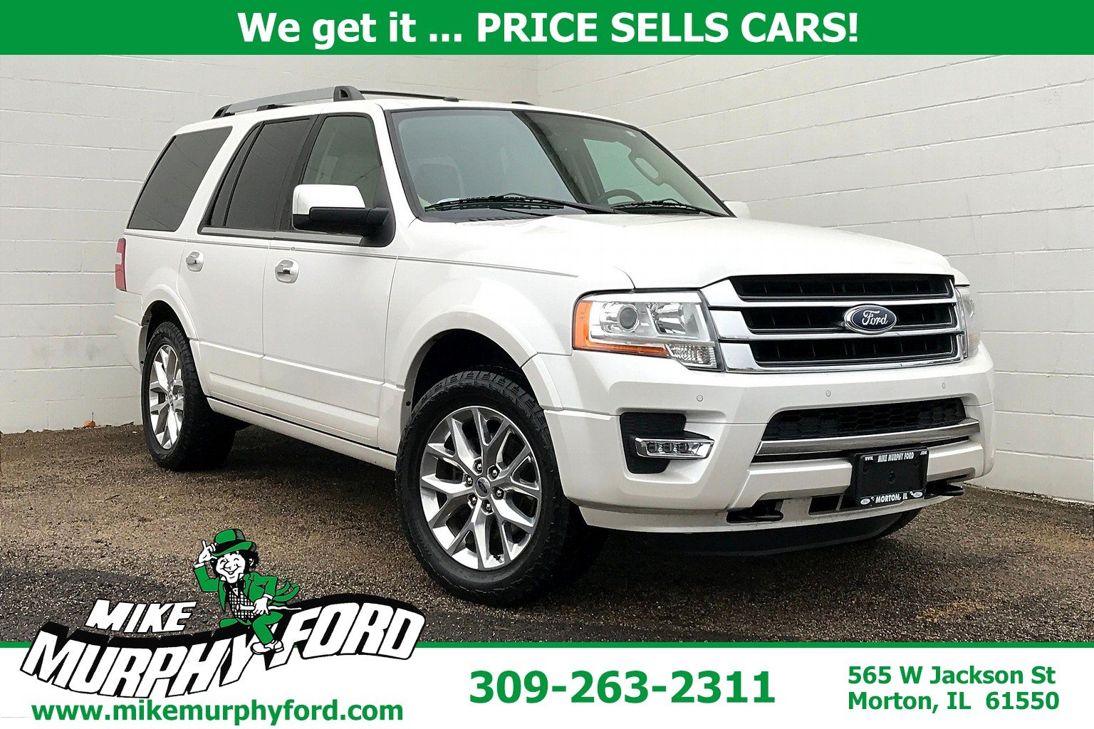 Pre-Owned 2015 Ford Expedition 4WD 4dr Limited