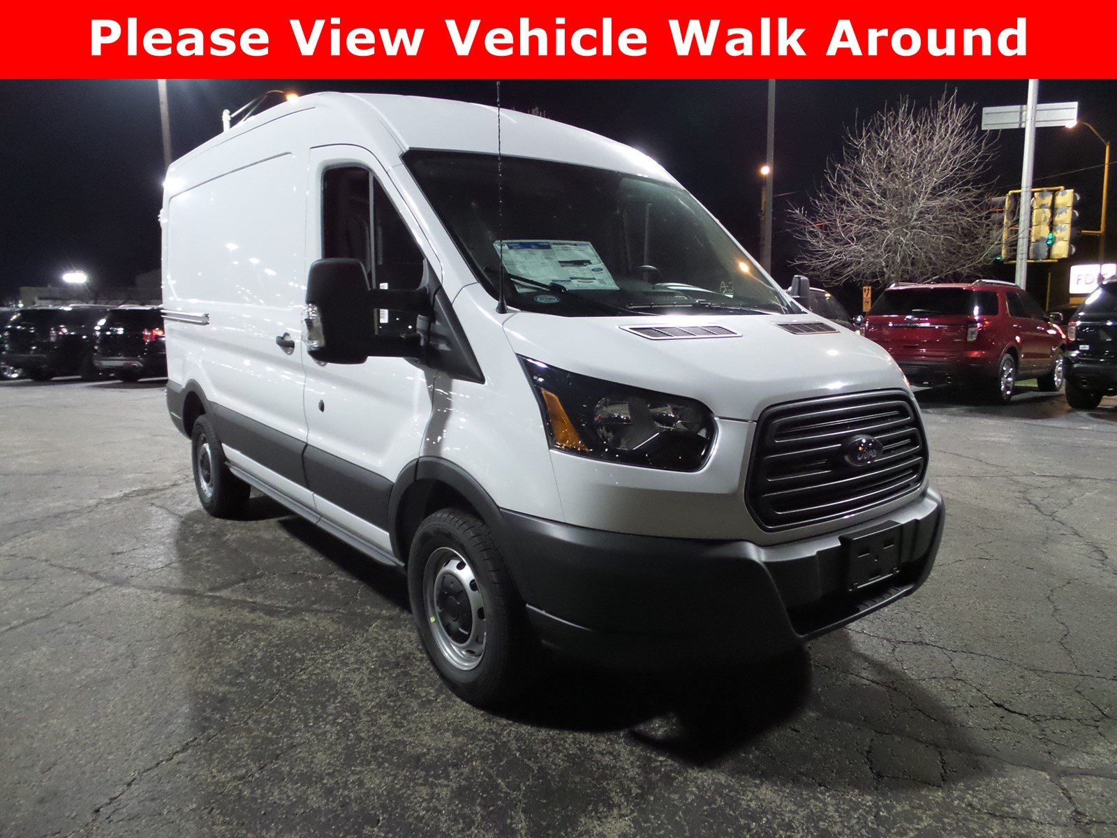 New 2018 Ford Transit 350 Base 3D Medium Roof Cargo Van in Morton