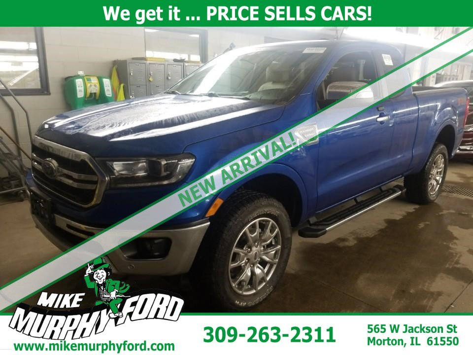Pre-Owned 2019 Ford Ranger LARIAT 4WD SuperCab 6' Box