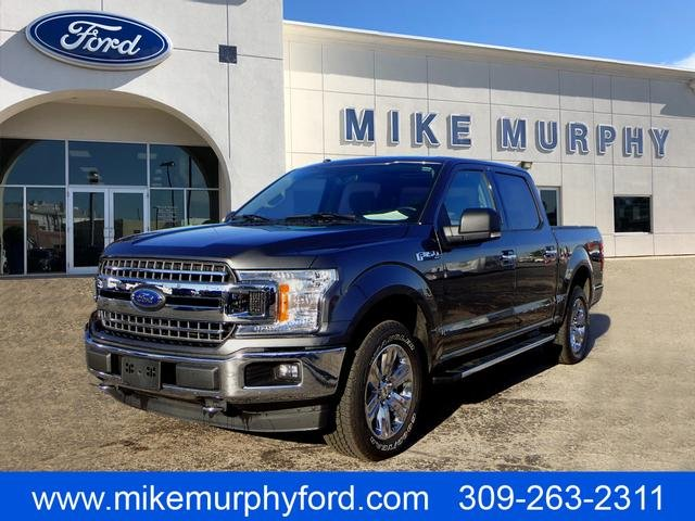 Pre Owned 2018 Ford F 150 Xlt Crew Cab Pickup In Morton B25827