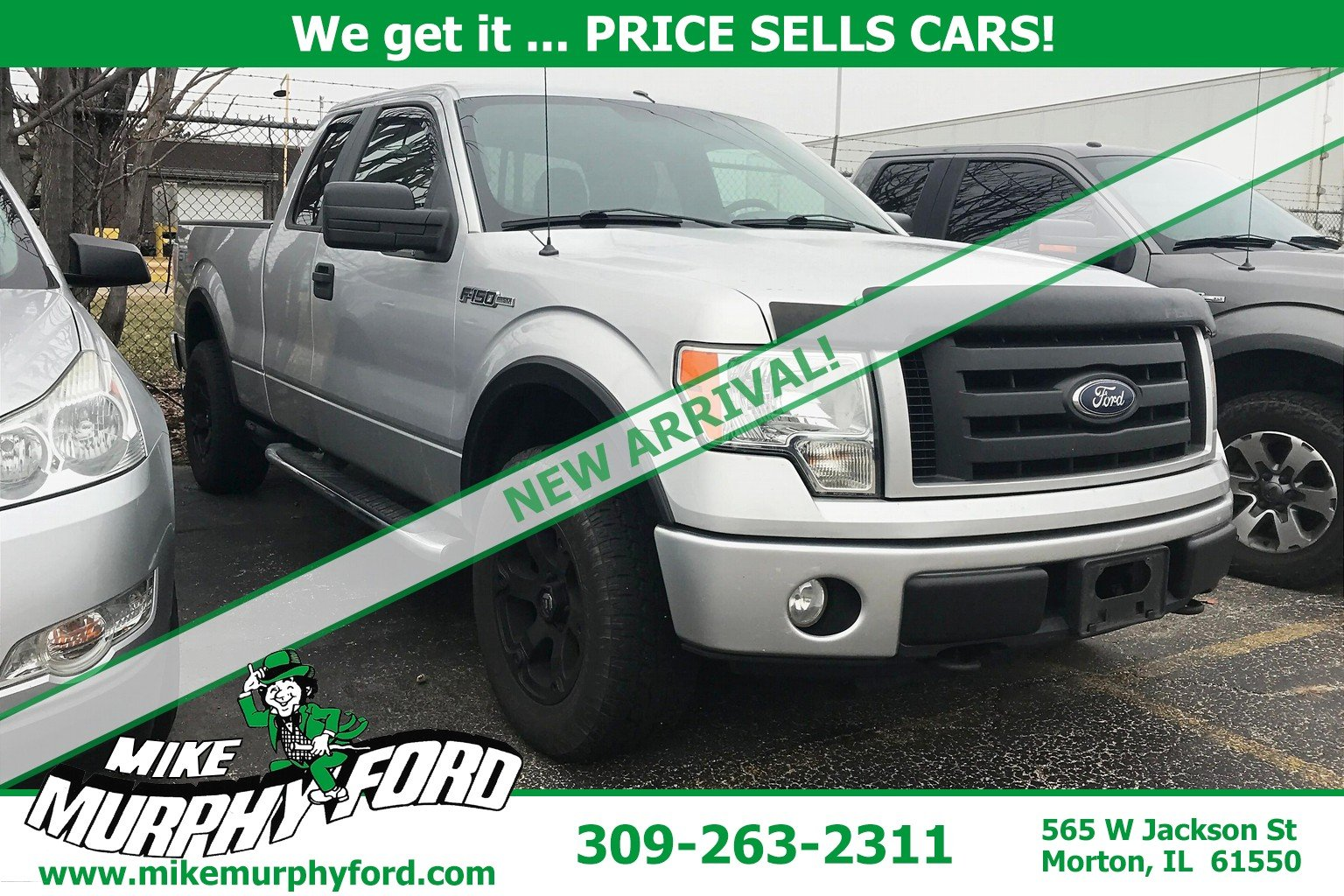 Pre-Owned 2010 Ford F-150 4WD SuperCab 145 STX