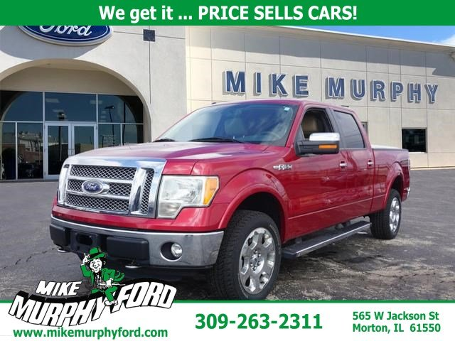 Pre-Owned 2011 Ford F-150 4WD SuperCrew 145 Lariat