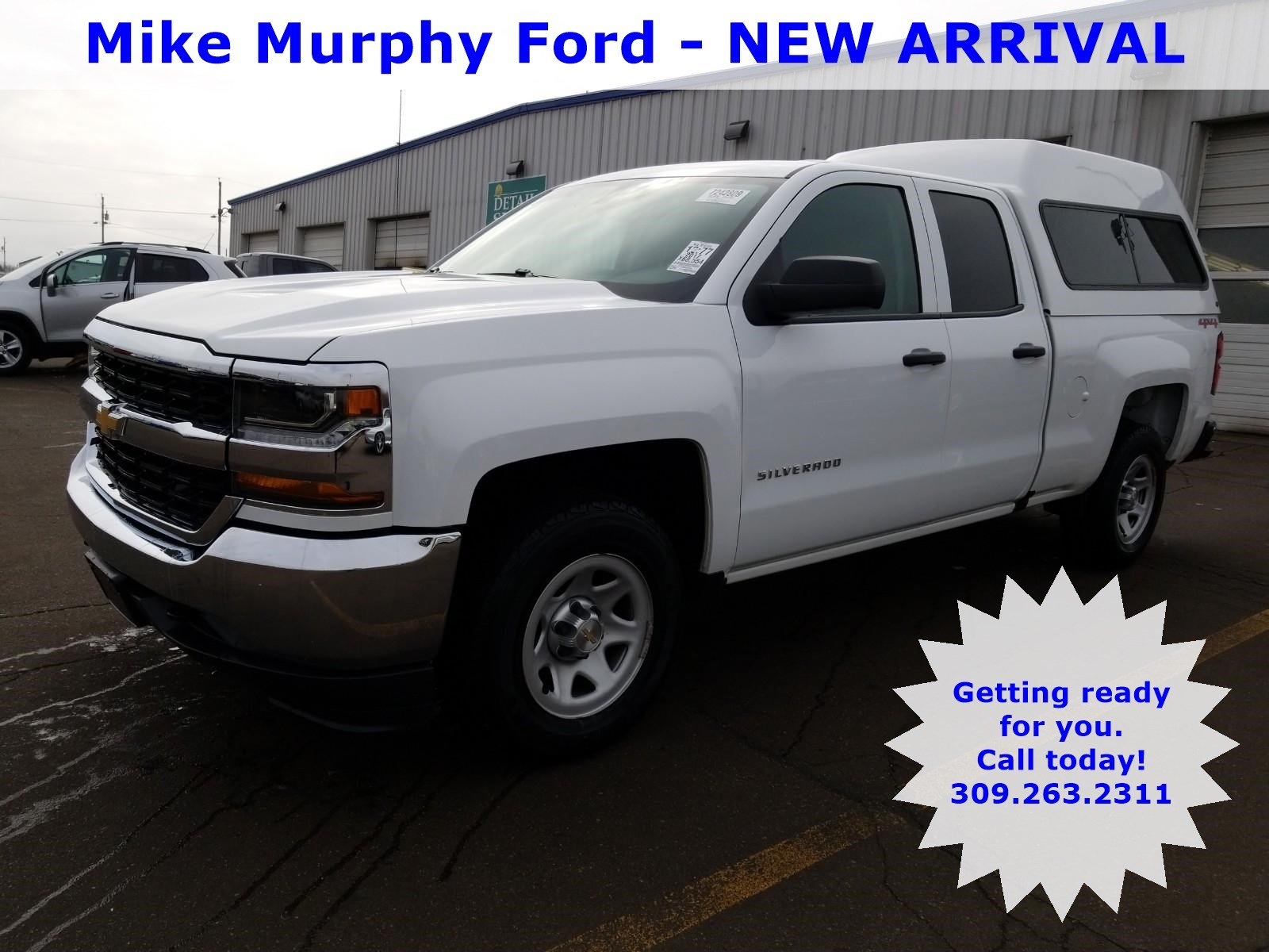 Pre Owned 2017 Chevrolet Silverado 1500 4wd Double Cab 143 5 Work Truck