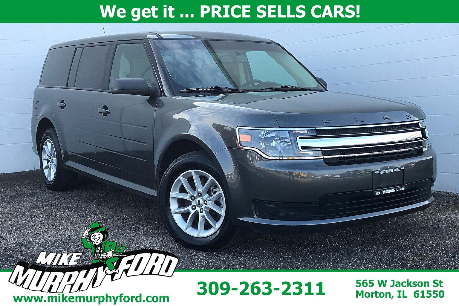Pre-Owned 2019 Ford Flex SE FWD