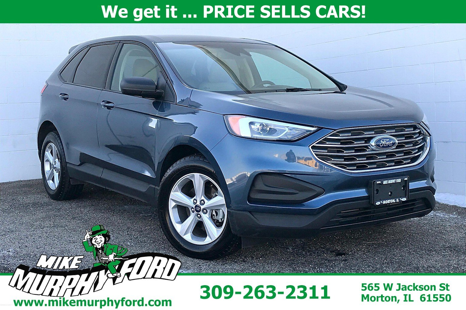 Pre-Owned 2019 Ford Edge SE FWD