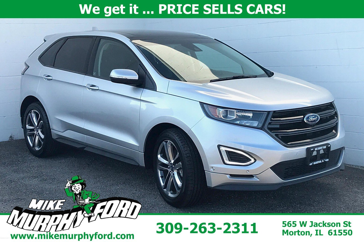Pre-Owned 2015 Ford Edge 4dr Sport FWD