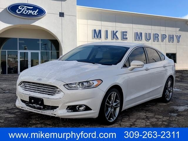 Pre Owned 2016 Ford Fusion 4dr Sdn Anium Fwd