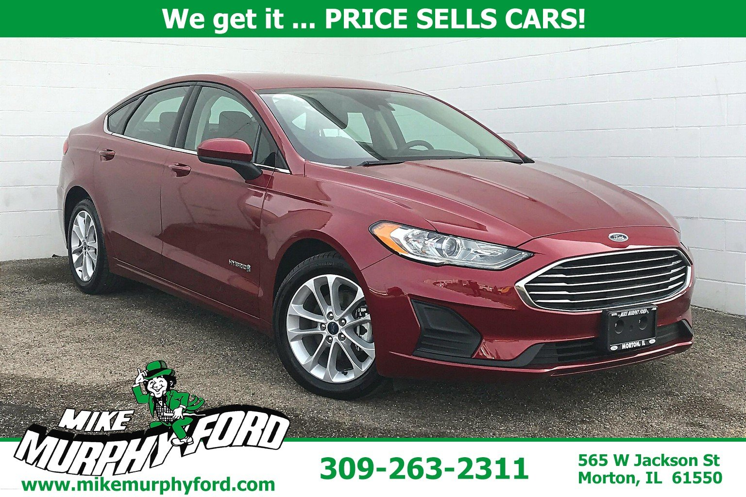Pre-Owned 2019 Ford Fusion Hybrid SE FWD