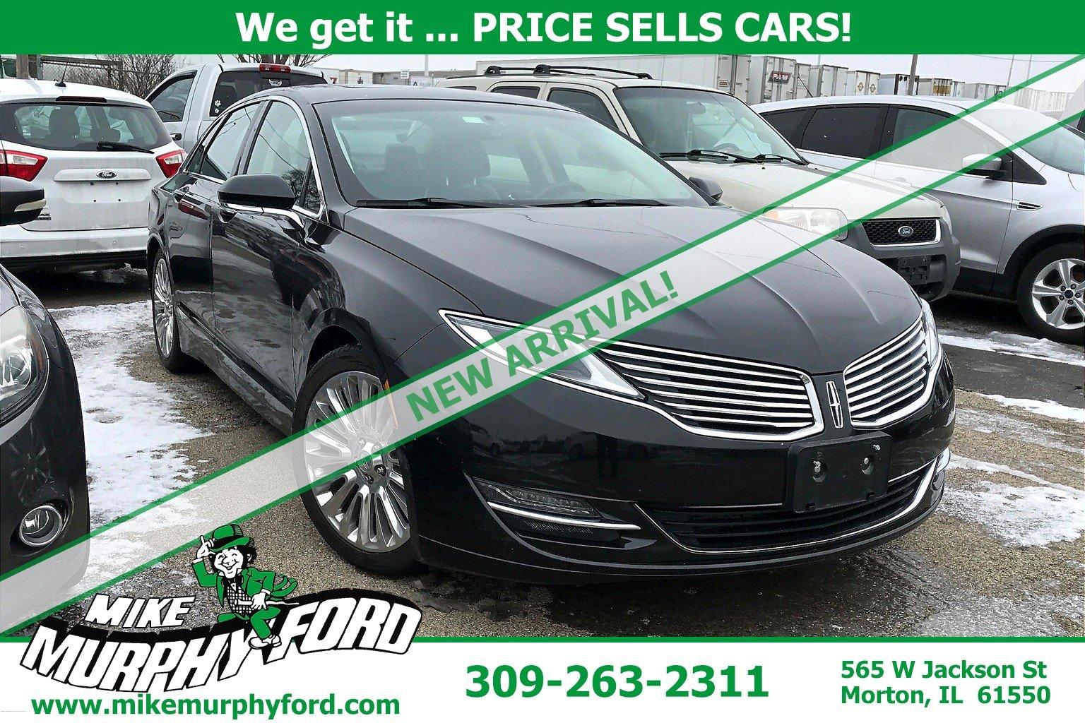 Pre-Owned 2013 Lincoln MKZ 4dr Sdn FWD