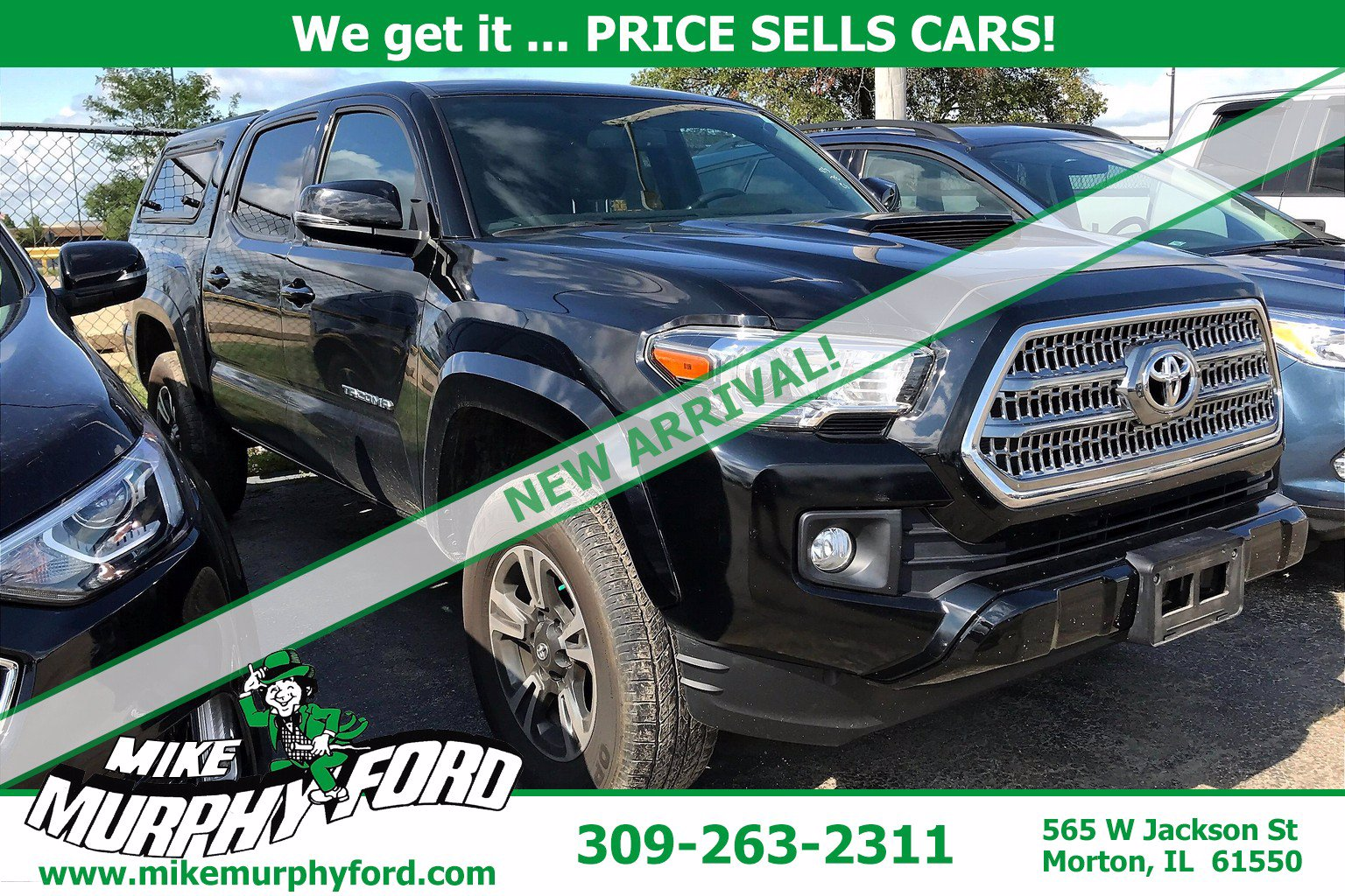 Pre-Owned 2017 Toyota Tacoma 4WDTRD Sport