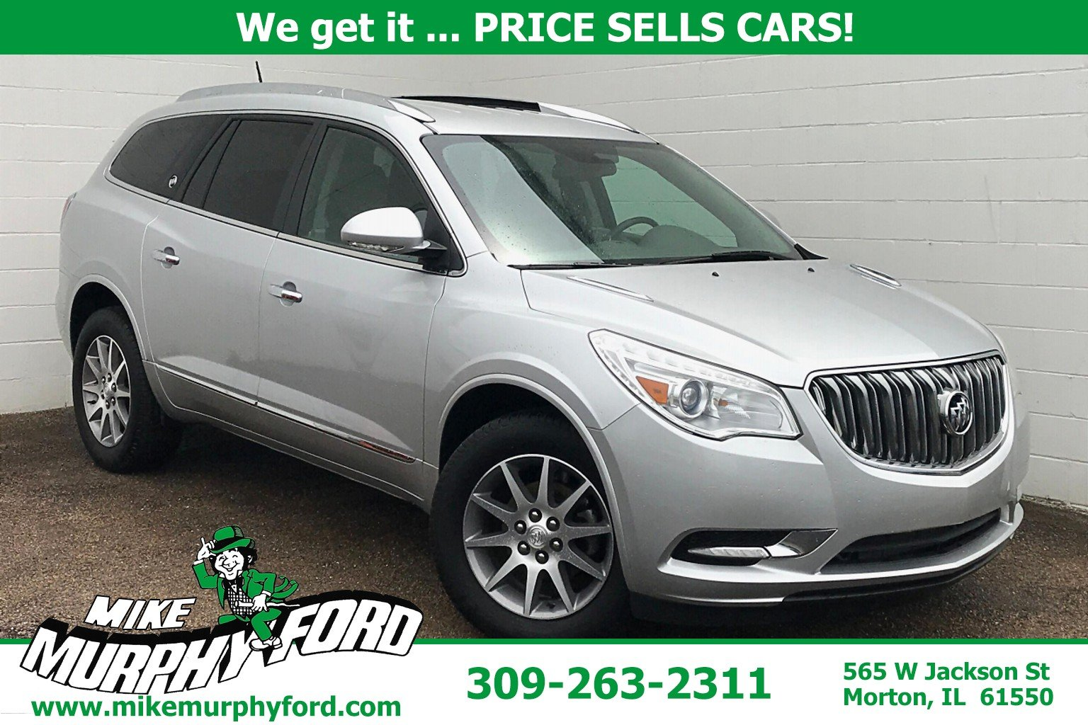 Pre-Owned 2016 Buick Enclave FWD 4dr Convenience