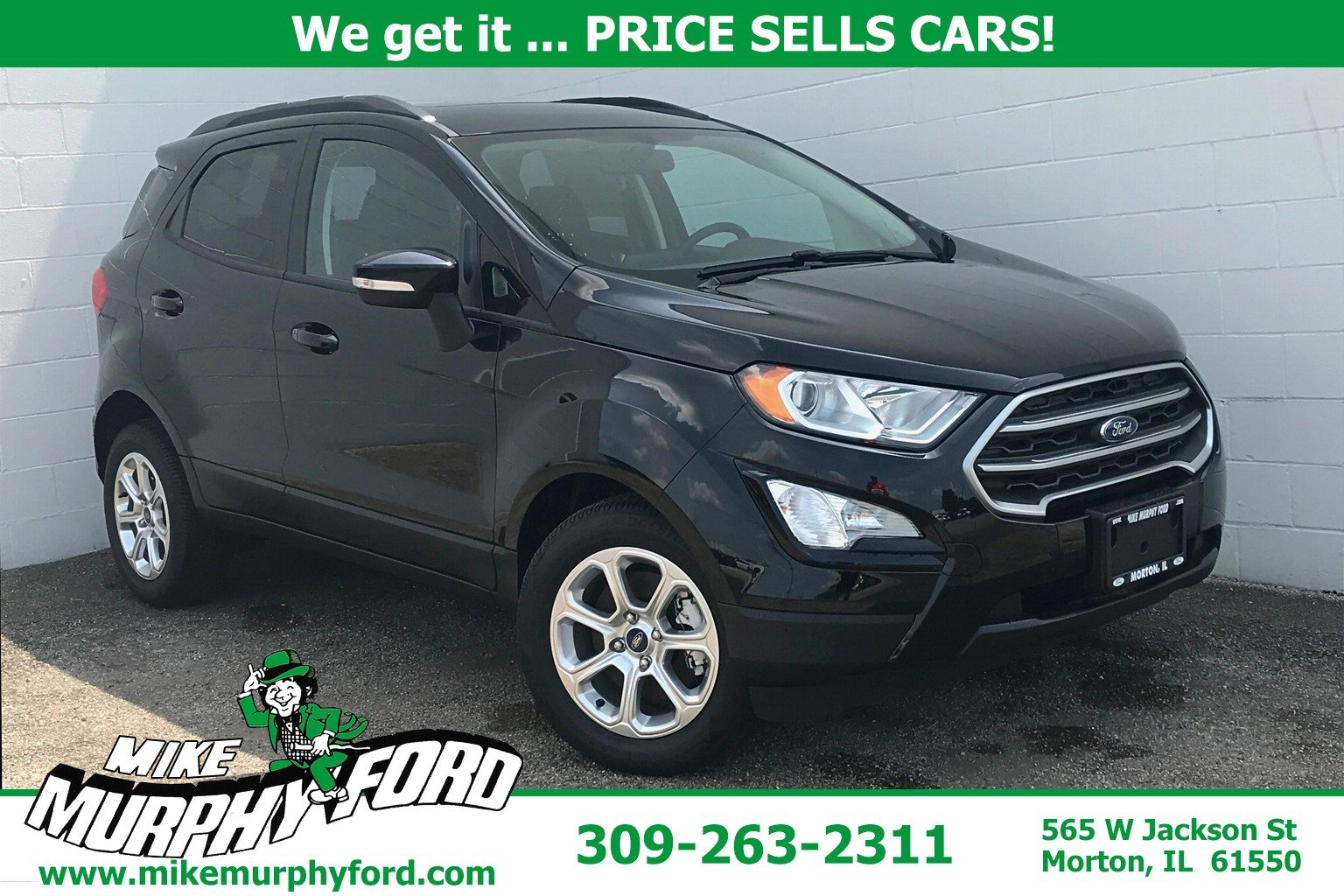 Pre-Owned 2018 Ford EcoSport SE FWD