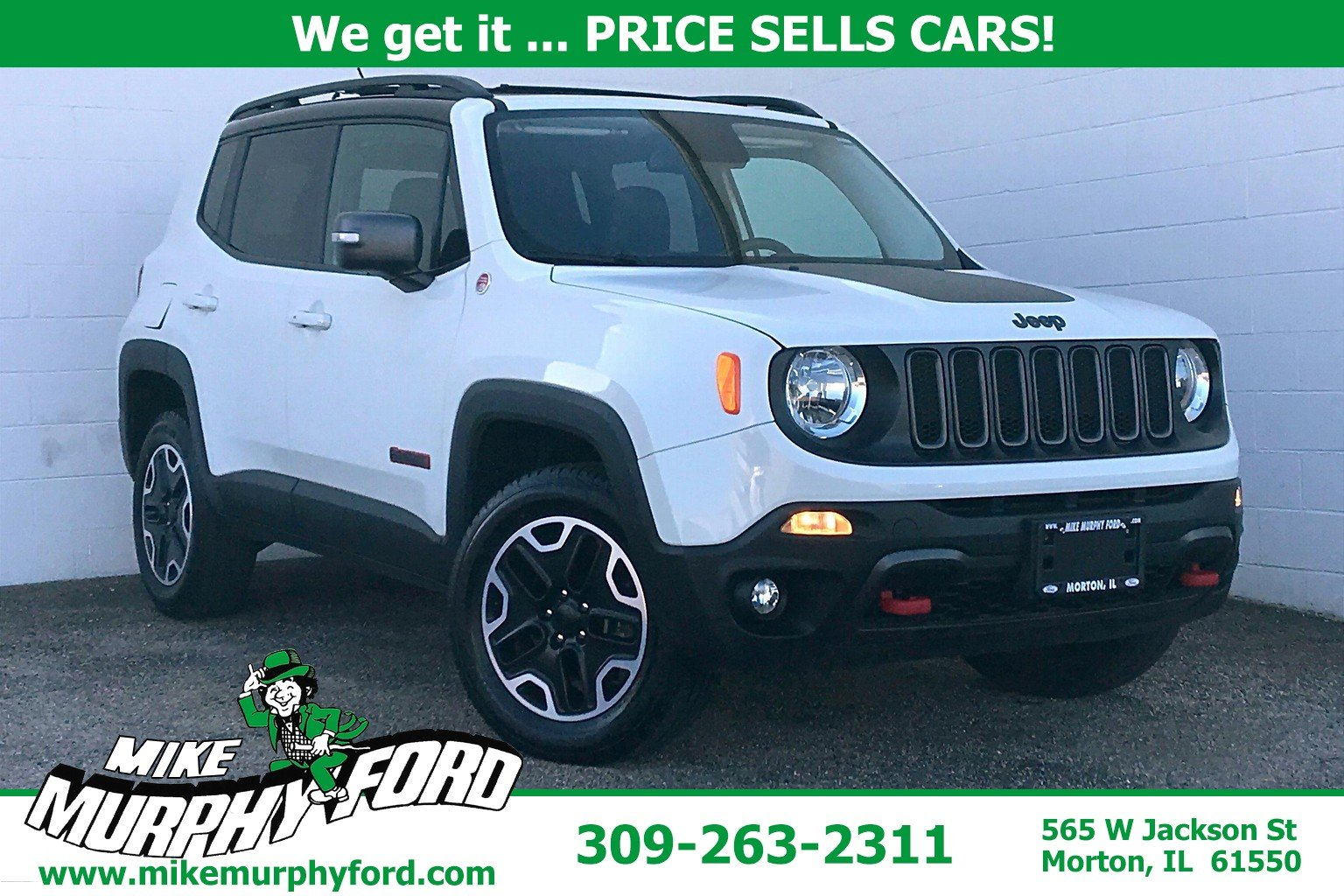 Pre-Owned 2017 Jeep Renegade 4WDTrailhawk