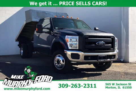 Pre-Owned 2015 Ford F-350SD 4WD SuperCab 162 WB 60 CA XL