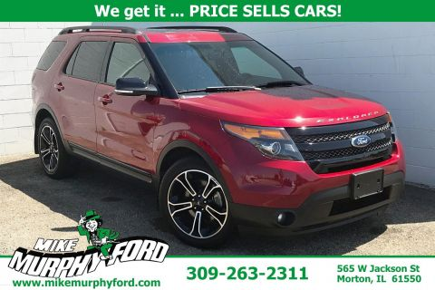 Pre-Owned 2015 Ford Explorer 4WD 4dr Sport