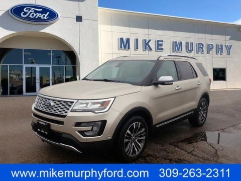 Pre-Owned 2017 Ford Explorer Platinum 4WD
