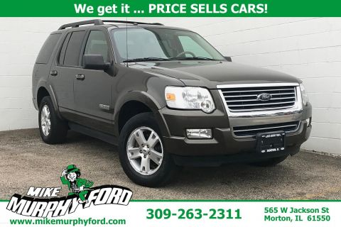 Pre-Owned 2008 Ford Explorer 4WD 4dr V6 XLT