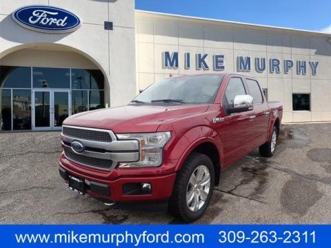 Pre-Owned 2018 Ford F-150 Platinum 4WD SuperCrew 5.5' Box