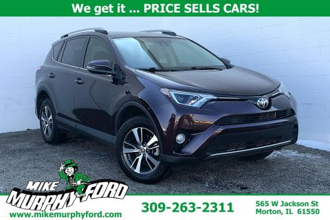 Pre-Owned 2017 Toyota RAV4 XLE FWD
