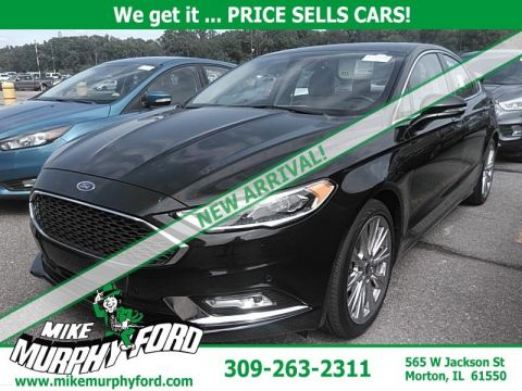 Pre-Owned 2017 Ford Fusion Platinum FWD