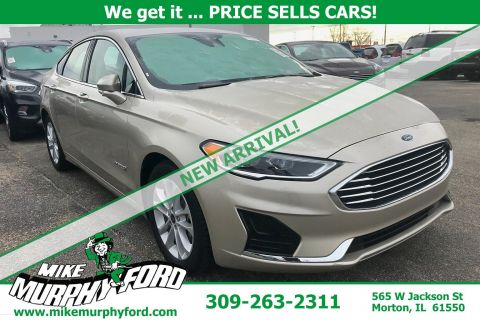 Pre-Owned 2019 Ford Fusion Hybrid SEL FWD