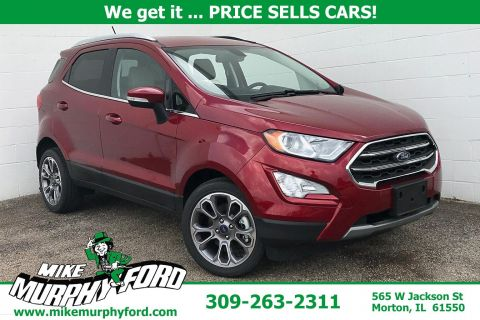 Pre-Owned 2018 Ford EcoSport Titanium FWD