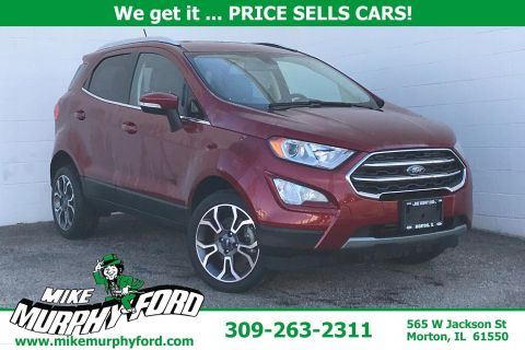 Pre-Owned 2018 Ford EcoSport Titanium 4WD
