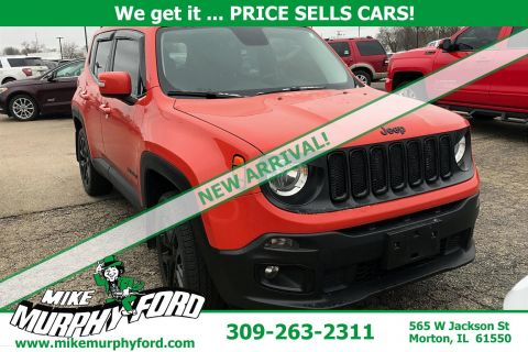 Pre-Owned 2017 Jeep Renegade 4WDLatitude